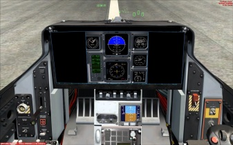 Basic Trainer Cockpit